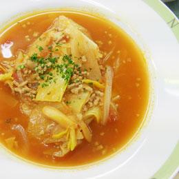 キャベツのトマトスープ