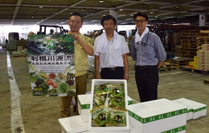 JA利根沼田「ミネラル栽培枝豆」試食宣伝販売会
