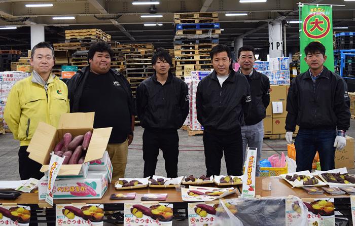 JAかとり丸大支部「さつま芋」試食宣伝販売会